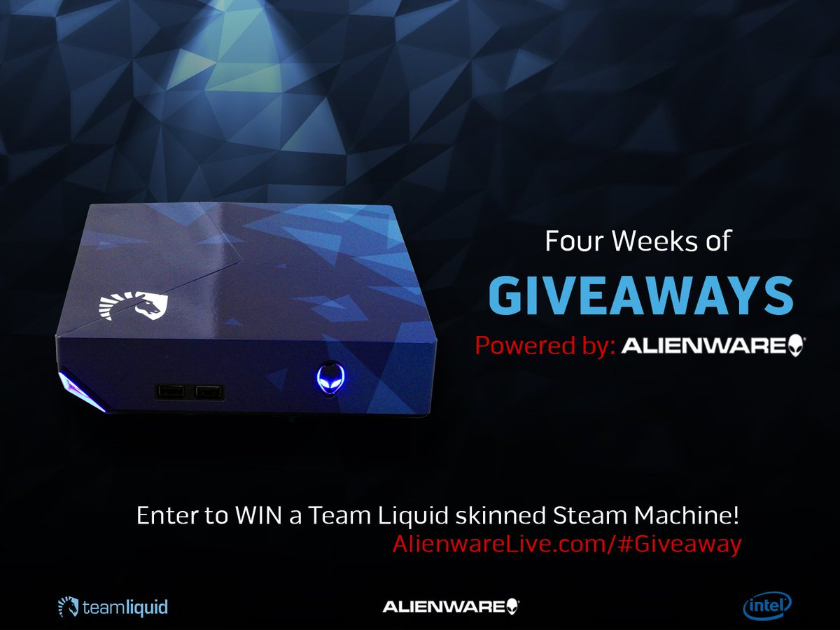 Win an #Alienware Steam Machine+other prizes these next 4 weeks. Enter our #Giveaway now https://t.co/7cFZInT73x