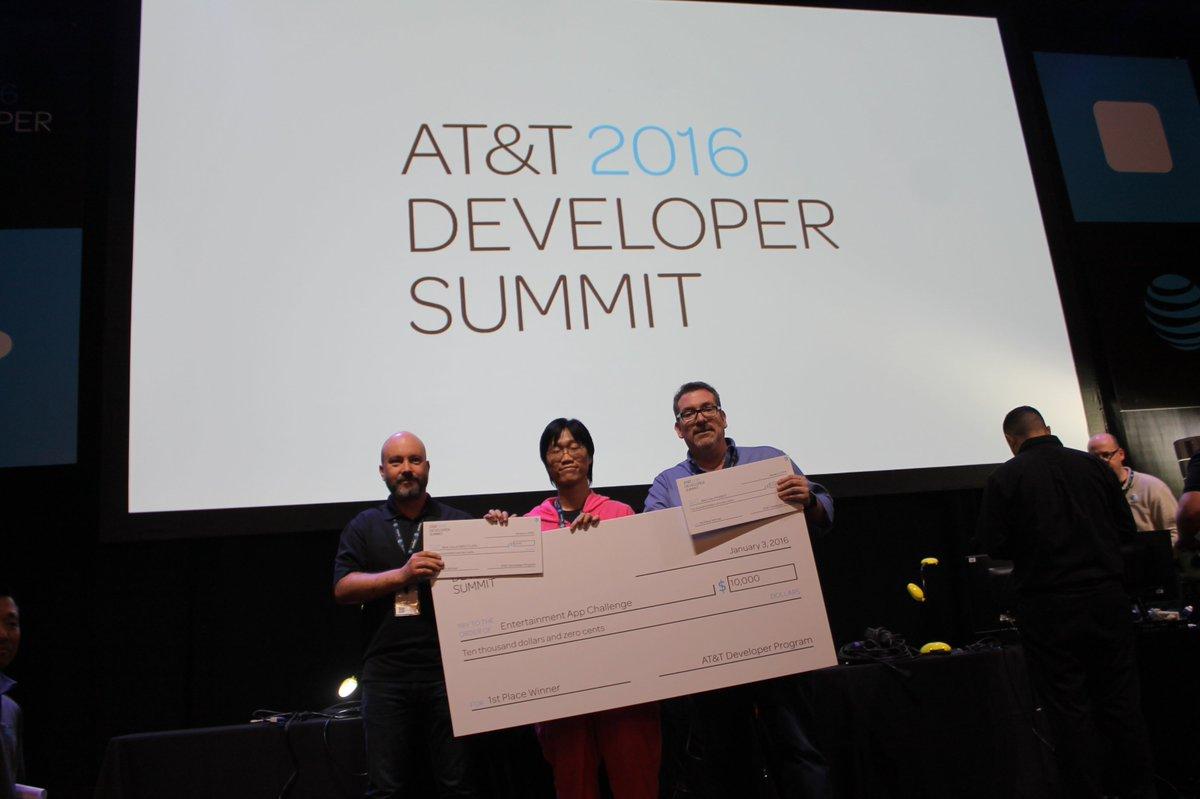 Team Quiz..TV is a finalist at the AT&T Developer Conference! @kandy_io #finalist #webrtc @japor @paulpluschkell https://t.co/WCUAqfuUsp