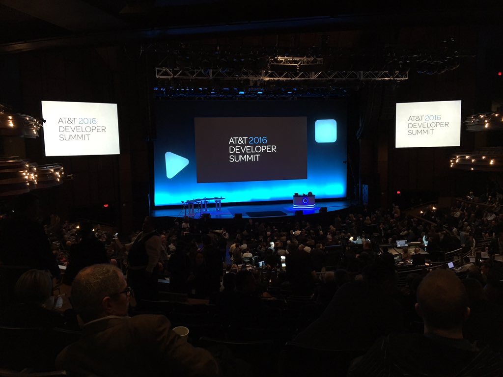 Ready for the #ATTDevSummit keynote! @dspace, @LauraHamel, and @benr75 in Vegas all week to talk all things mobile. https://t.co/IkcxfzvrsY