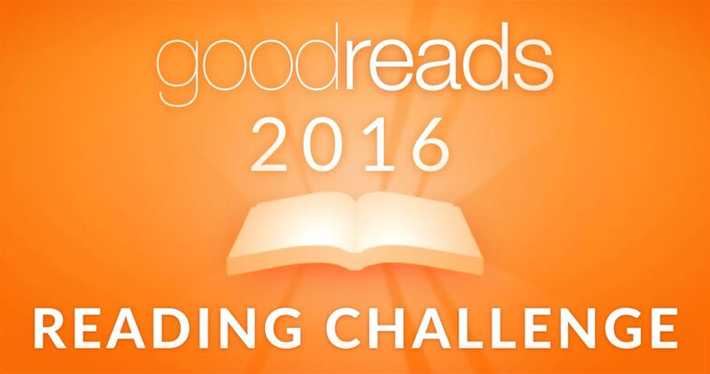 Image result for goodreads 2016 reading challenge