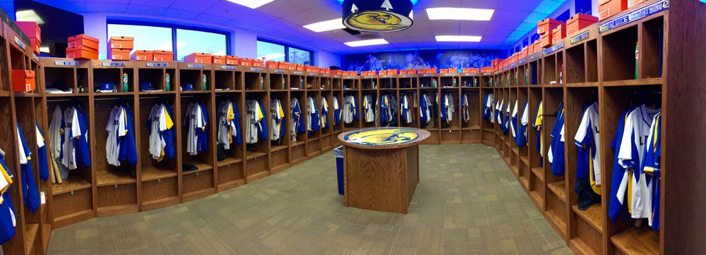 Lander Baseball On Twitter Locker Room Is Ready DCNE16