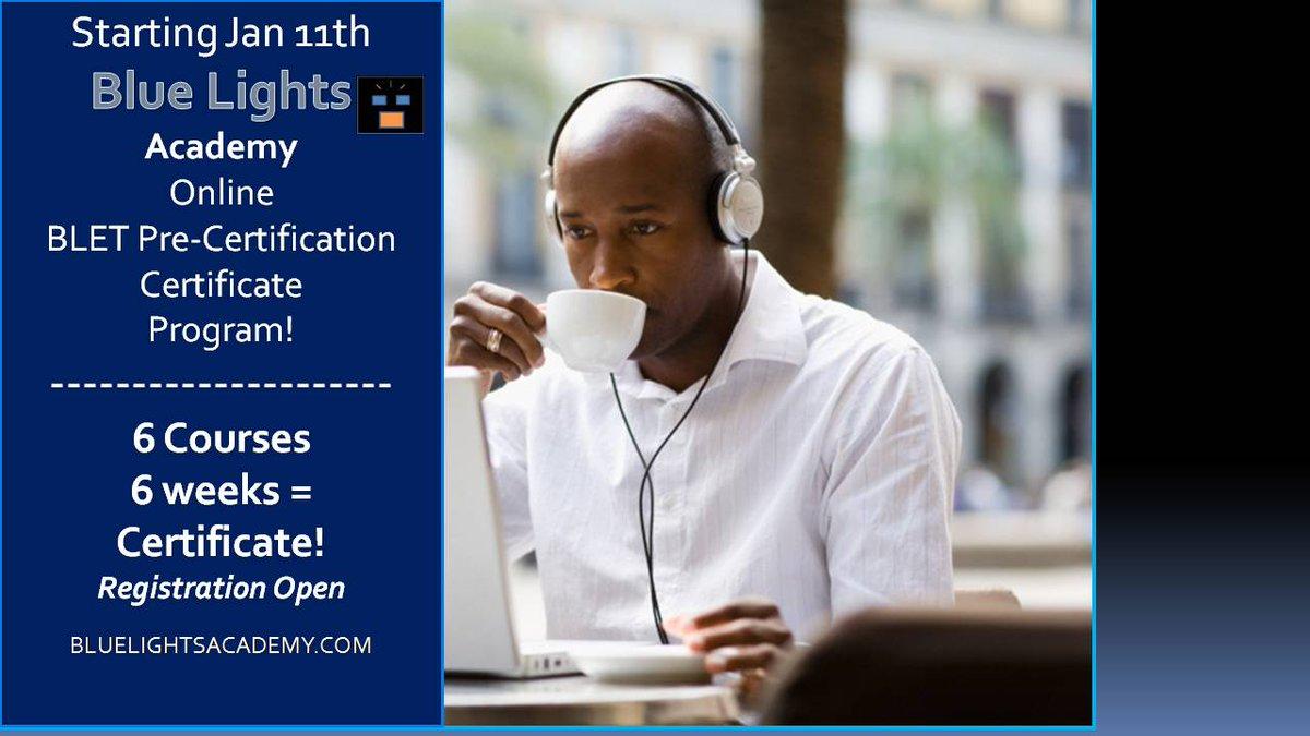 Blue Lights College On Twitter Blue Lights Academy Online Program