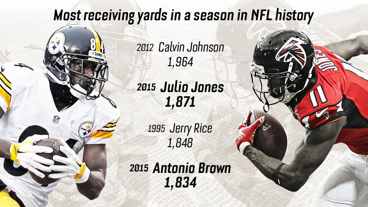 Espn Stats Info On Twitter Julio Jones Antonio Brown