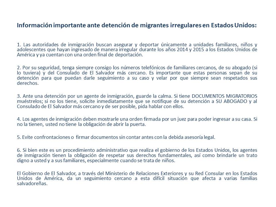 Rree El Salvador On Twitter Aviso Informacion Importante