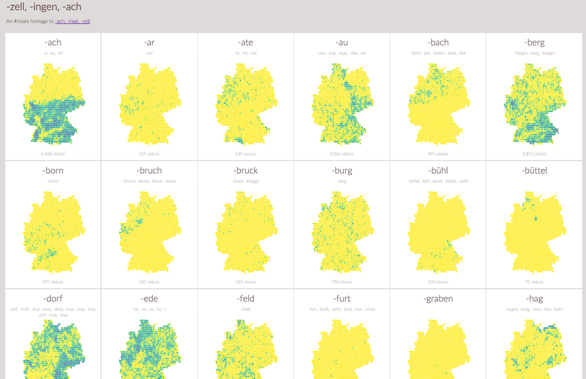 An #rstats homage to @moritz_stefaner's inaugural 2016 post https://t.co/gYUXuEZgiG (exploring German town names) https://t.co/nO7zhO1Daq