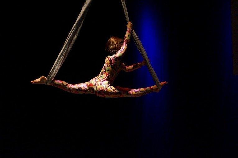 разминающиеся цирковые акробатки видео реакция читателей
