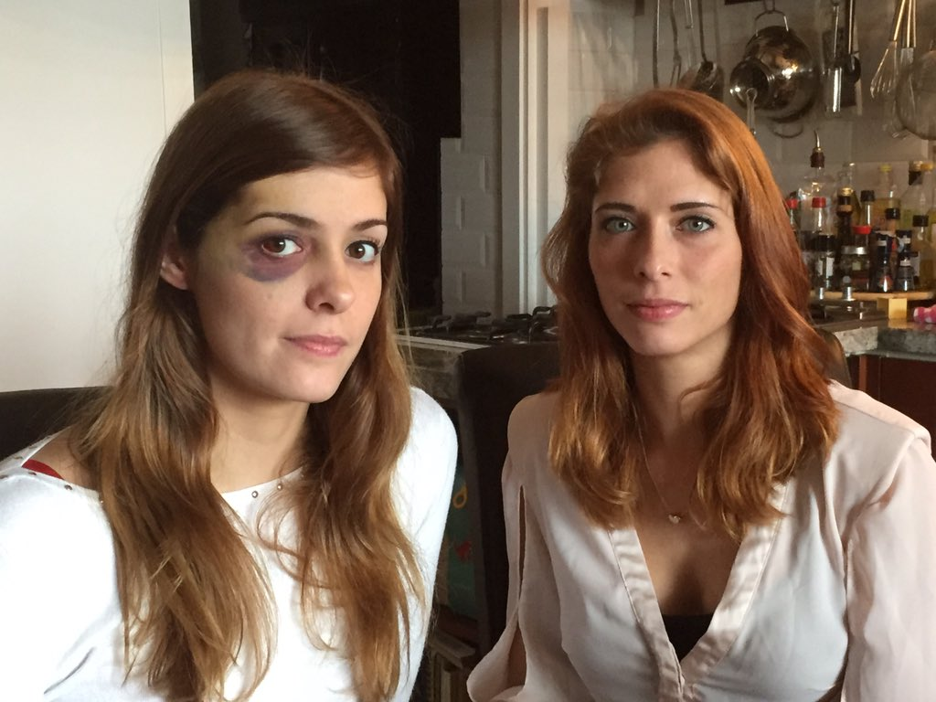 Tweelingzussen Merel en Karlin (24) werden mishandeld in Rotterdamse hamburgertent. Een medewerker greep in. #hvnl https://t.co/MSwskoRcvR