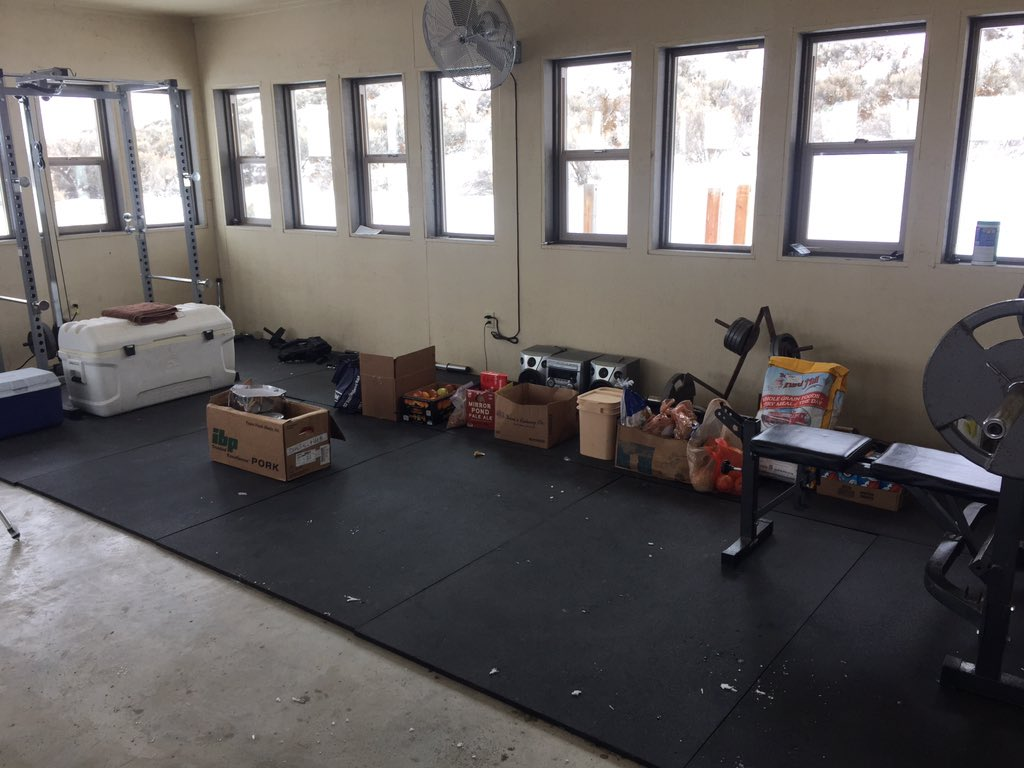 Supply room at the #Bundymilitia Malheur refuge takeover. https://t.co/hnJW1sqqbY