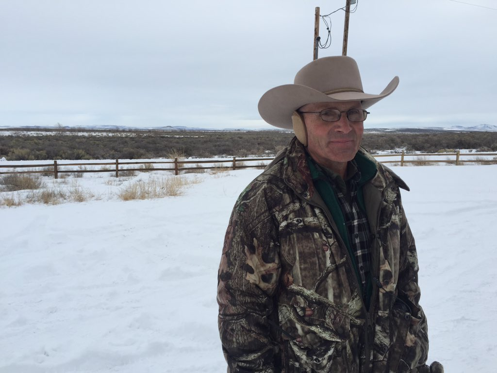 "LaVoy Finicum, AZ rancher says he'll stay ""until the constitution is upheld."" https://t.co/NB758n7d7F"