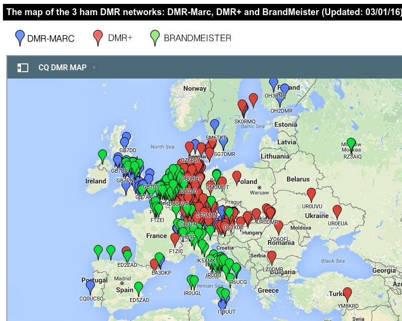 CQ DMR MAP