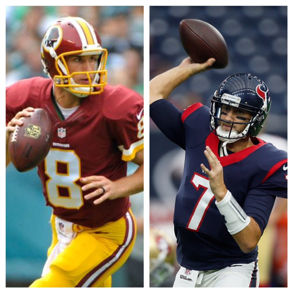 Congrats to Kirk Cousins and Brian Hoyer for leading their teams to division titles this season. #Spartans https://t.co/F8kfnE5x9K