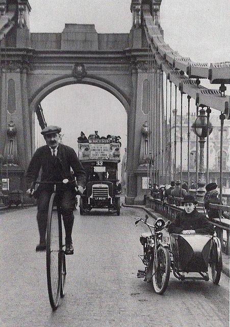 London in 1900