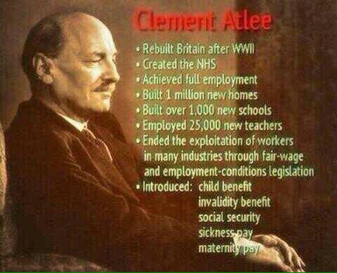 Born this day in 1883, the outstanding Clem Attlee, 1st Earl Attlee, KG, OM, CH, PC, FRS https://t.co/upFxYN5E3d