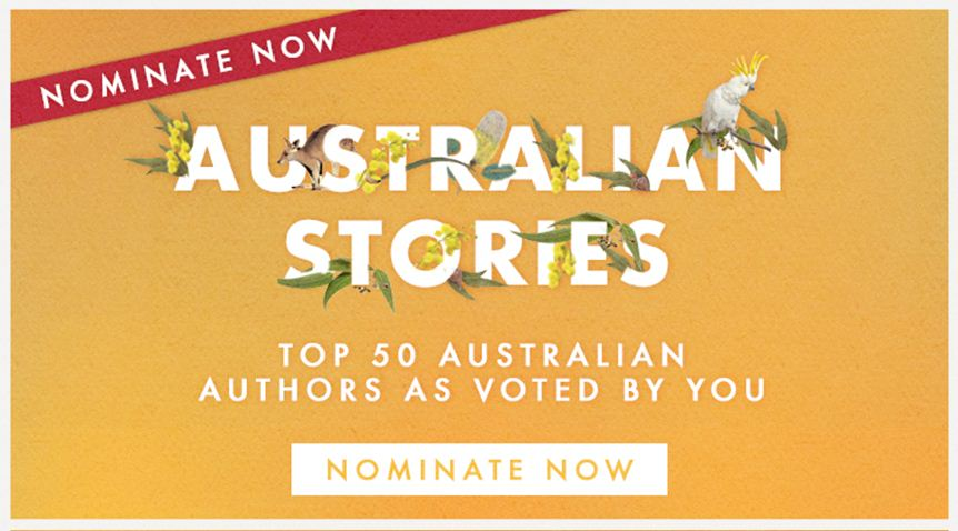 Nominations are now open for Australia's Favourite Author! For more details go to: https://t.co/8E0TkAAvXl https://t.co/sx3IcJUlUO