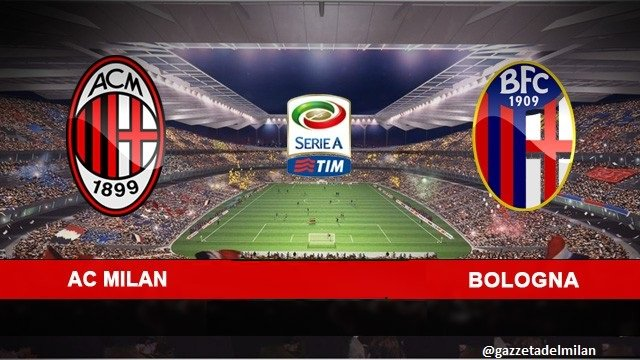 Diretta Calcio TV: Milan-Bologna Streaming Rojadirecta