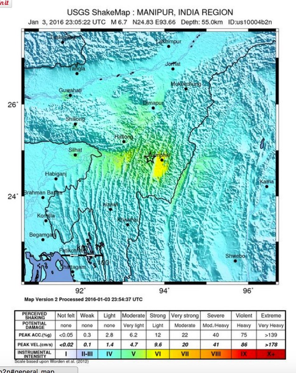 Care Care Org على تويتر Usgs Map Shows Major 6 7 Earthquake West