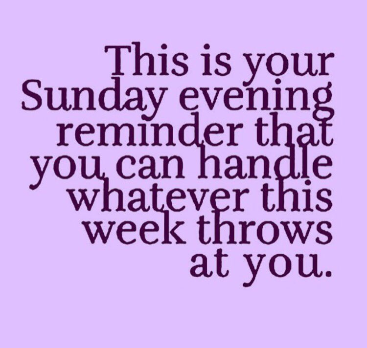 Yegtweetup On Twitter This Is Your Sunday Evening Reminder Have