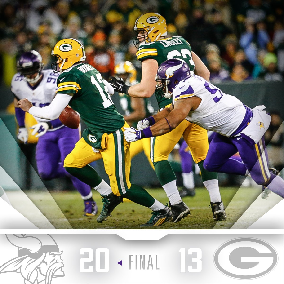 11-5 and NFC North champs! https://t.co/uC0oiBFjqZ
