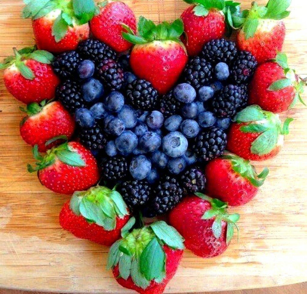 Пожелания с добрым утром с картинками фруктов ягод
