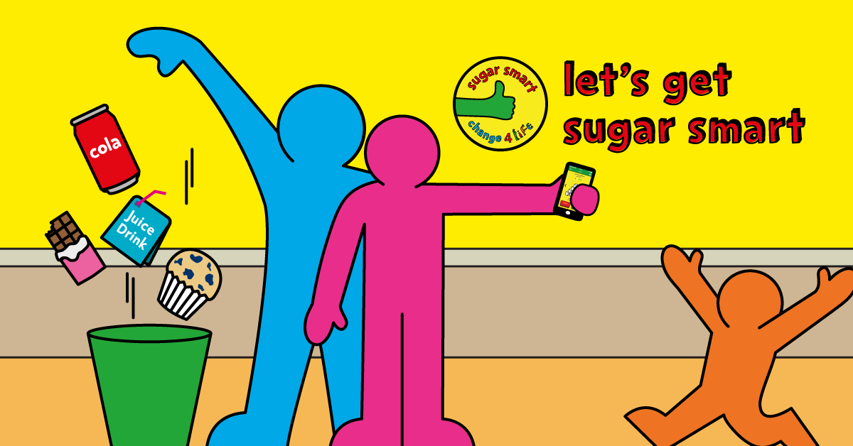It's the first day of our new #SugarSmart campaign! Find out what it's all about here:  https://t.co/ZVJMEOiDbC https://t.co/vc3CMcd13J