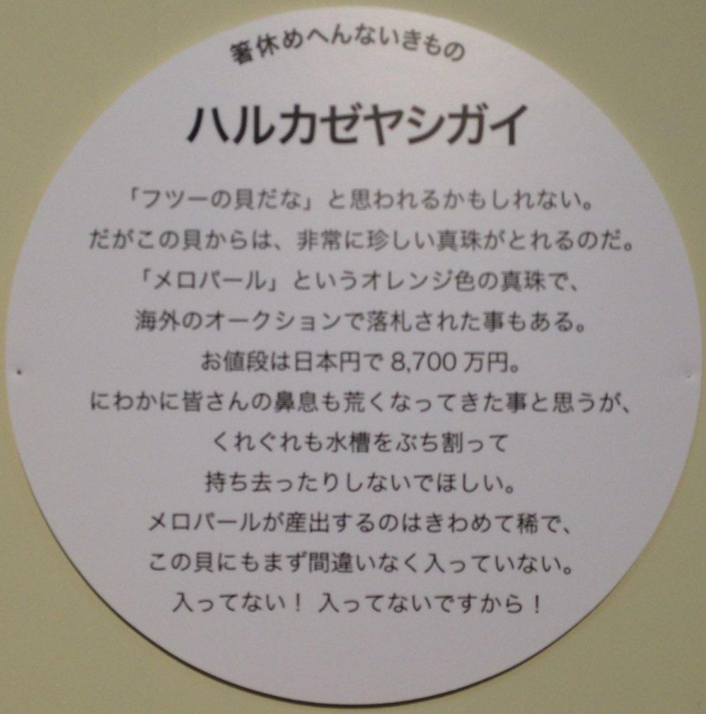 【サンシャイン水族館】特別展示の文章が秀逸 腹抱えるレベルwww