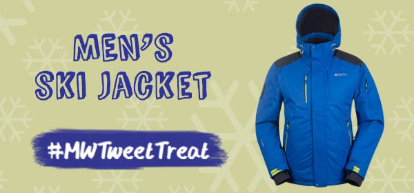 Got those post-Christmas blues? RT & Follow to #WIN our Men's Ski Jacket! #MWTweetTreat https://t.co/j7RxtJMpqa https://t.co/wYWuK97G5Y