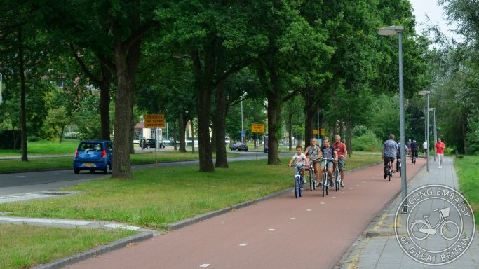 Eleven protected cycle tracks
