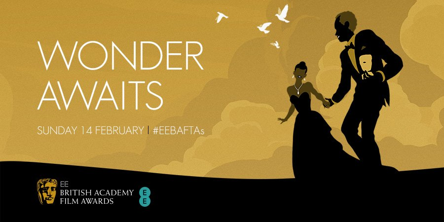 The #EEBAFTAs are coming! That's my silhouette with the diamond drop pendant and off-the-shoulder frock, by the way https://t.co/rwkQqp8RXz