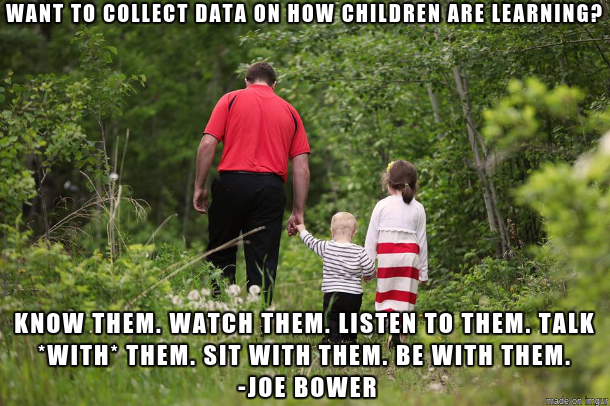 Effective learning + assessment isn't abt measuring children. It's abt knowing them. @joe_bower Lessons https://t.co/3FiUvQCUaw