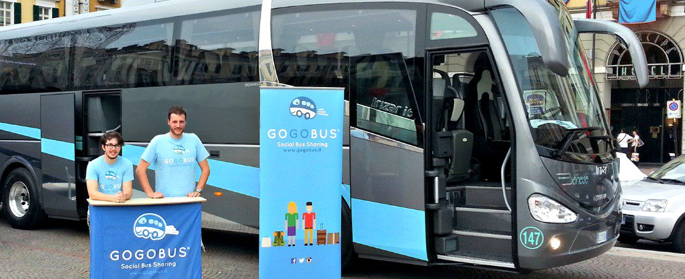 GoGoBus: viaggiare low cost con il bus sharing