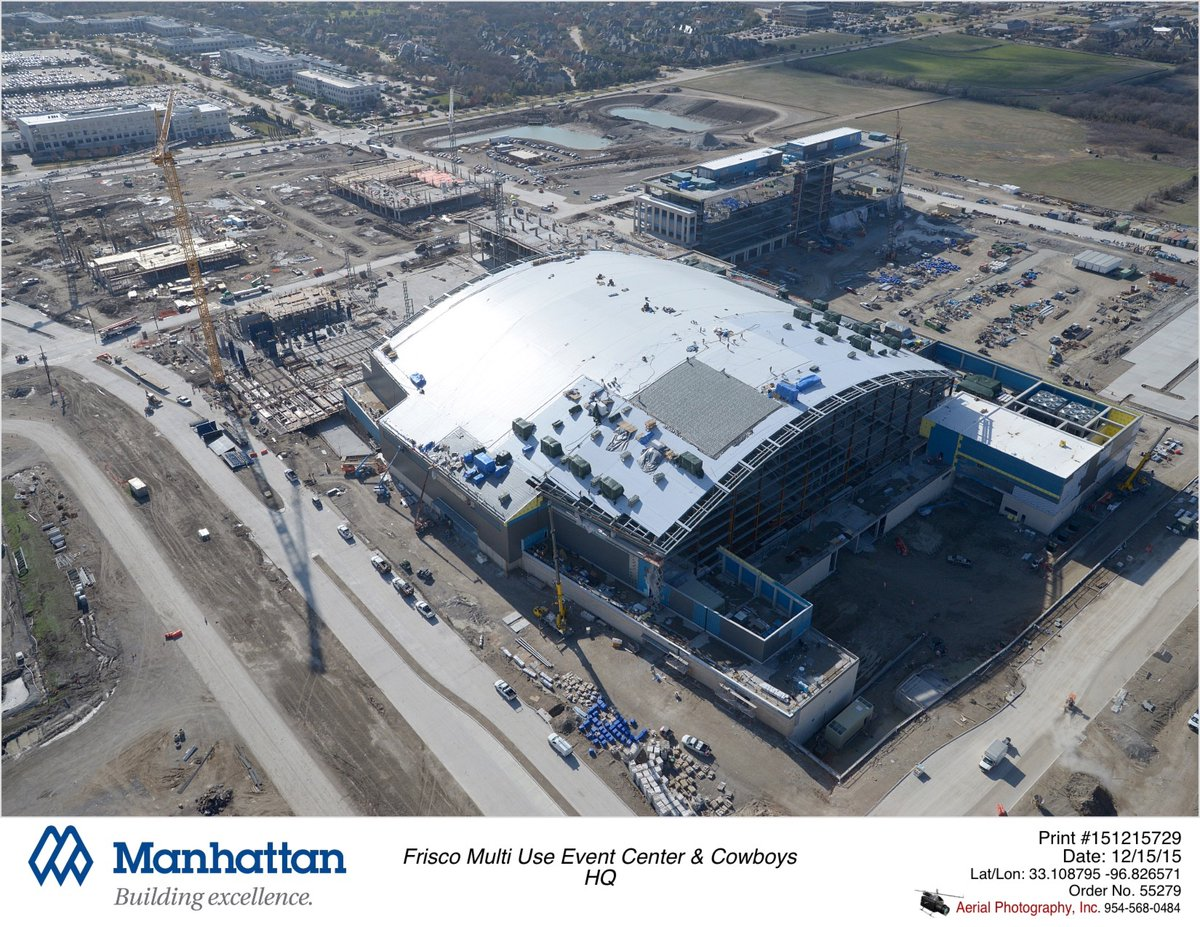 Cowboys' new 'The Star' in Frisco on track for August opening https://t.co/VhIRdBIMVu https://t.co/HePEJm9xSn