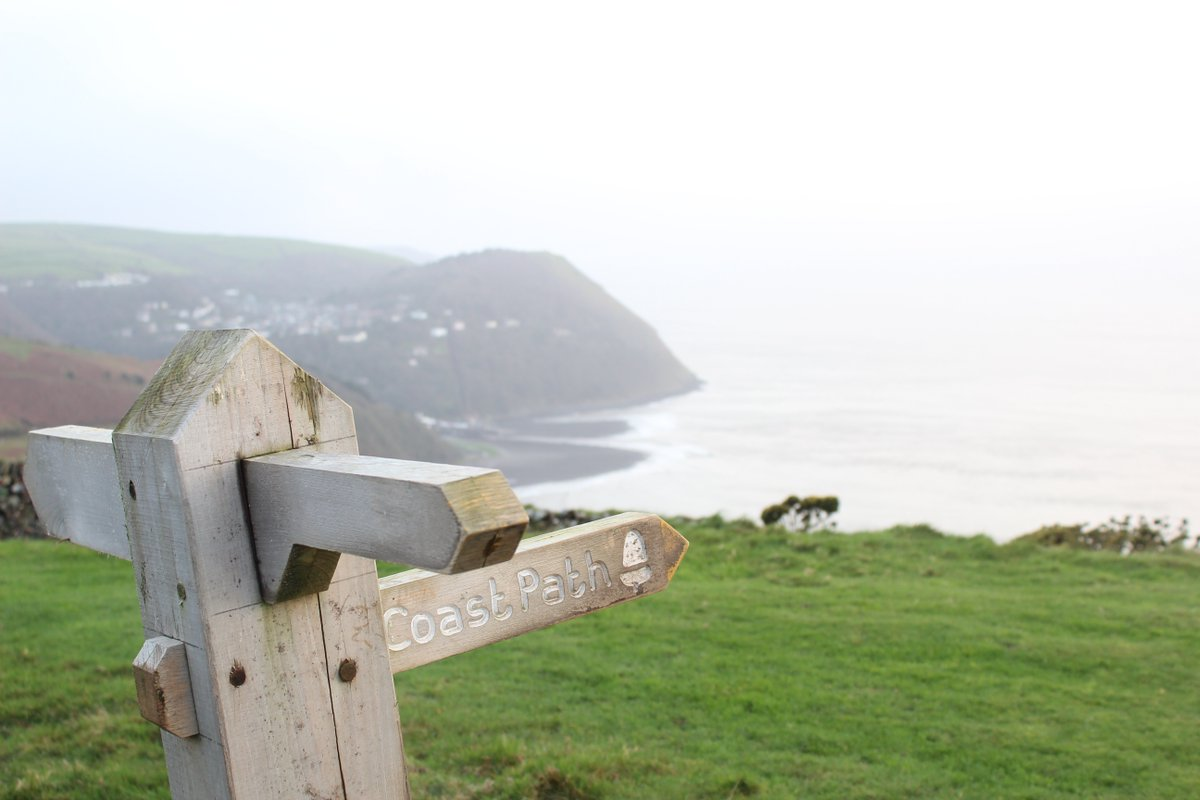 Great walk from @LyntonLynmouth to top of Countisbury Hill yesterday.  @LyntonWalks @THCottages #ndevon #exmoor