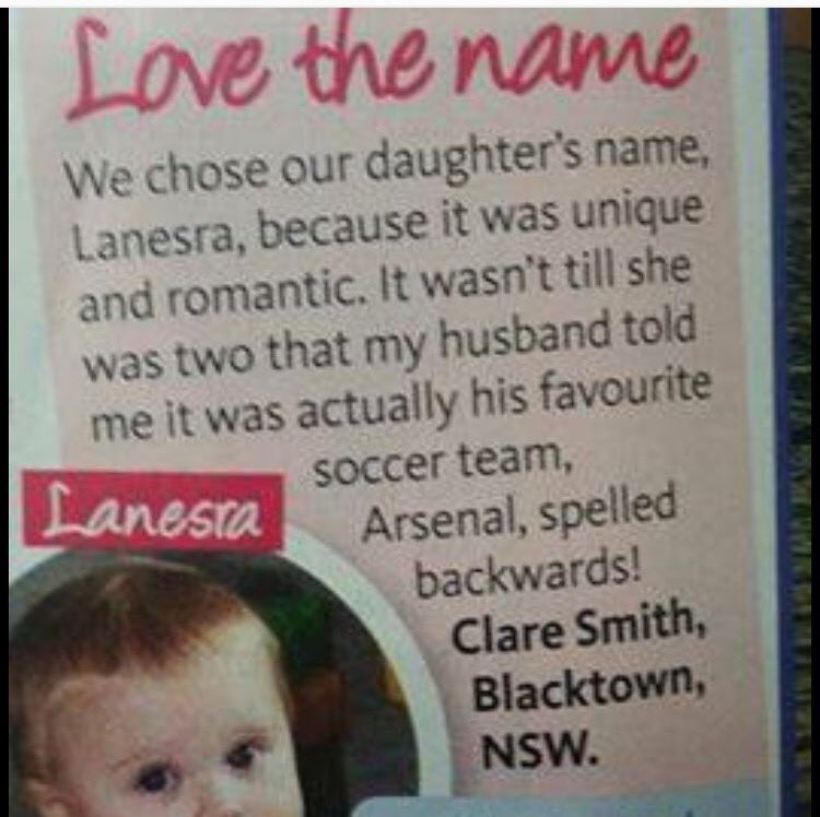 How A Superfan Dad Left A Secret Message In His Baby's Name