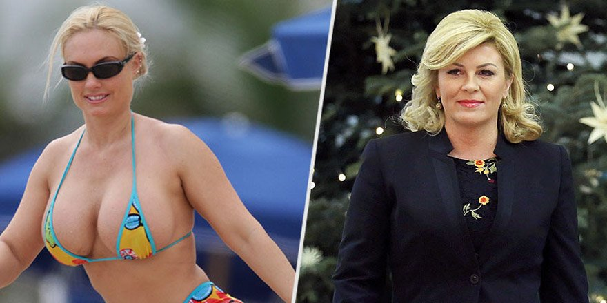 Croatian President Kolinda Grabar Kitarovic Mistaken For