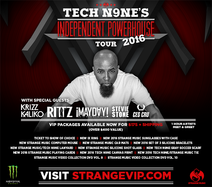 Tech n9ne on twitter its monday so that means vip is here https 103 pm 4 jan 2016 m4hsunfo