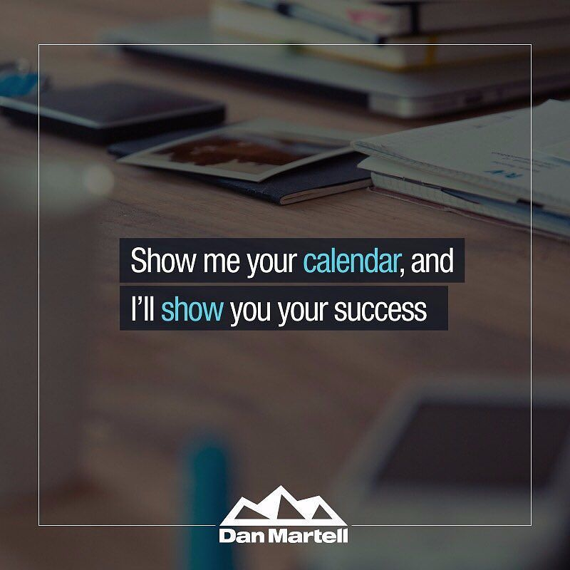 Dan Martell On Twitter Show Me Your Calendar And I Ll Show You