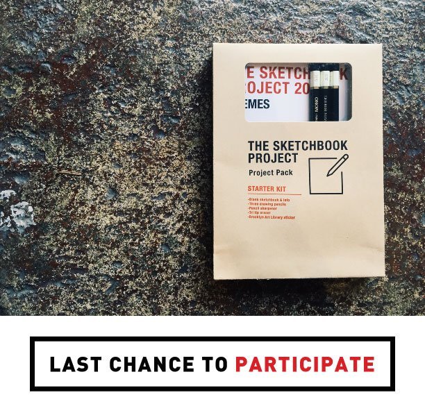 TOMORROW is the last day to sign up for The Sketchbook Project 2016! Sign up by 11:59 PM EST https://t.co/ktAIzzfYmQ https://t.co/9x8gVhYHCD