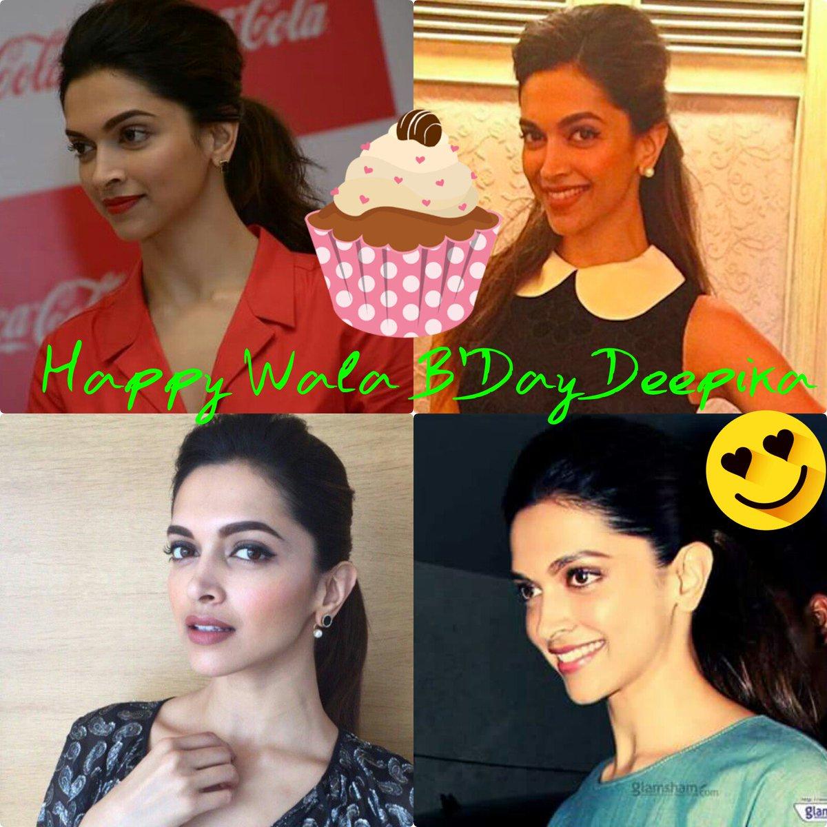 Happy vala birthday Deepu 😍😍😍😘😘💜💜💜🎉🎉🎊🎉🎊🎉🎊🎇🎇🎇 #HappyBirthdayDeepikaPadukone