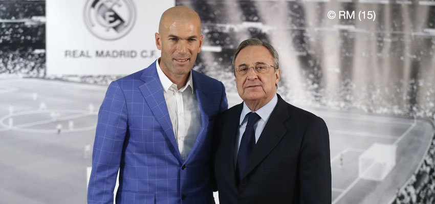 Real Madrid C F On Twitter Zinedine Zidane Nuevo Entrenador Del Real Madrid Https T Co E5xiogyklg Realmadrid Https T Co Rricl9gotx