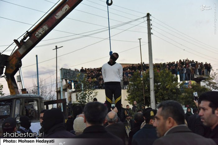 January 3rd: Public hanging Iran https://t.co/MO7z6VHdu4