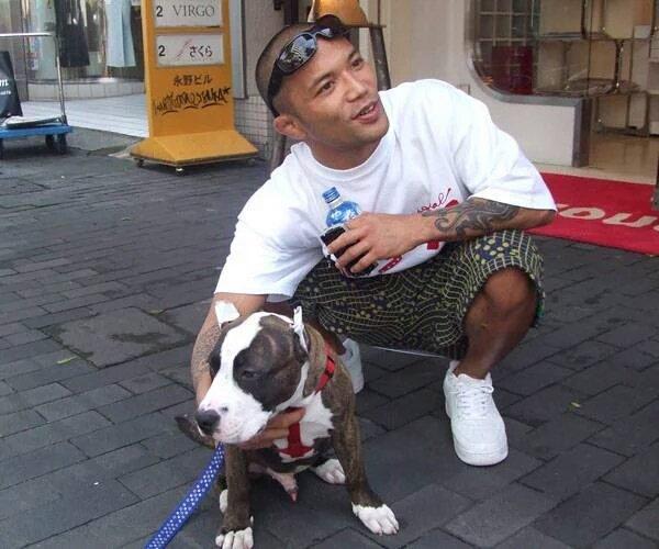 犬が好きな山本KID徳郁