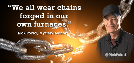 Quotes  We all wear chains forged in our own furnaces. - Rick Polad  http:// smarturl.it/RPcom  &nbsp;   <br>http://pic.twitter.com/Kgdo8Q0o1W #Quotes