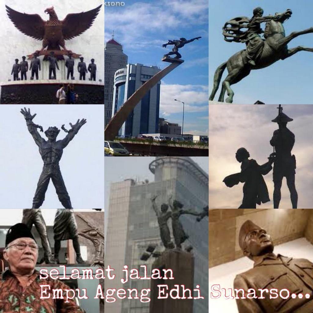 Selamat jalan Pak Edhi Sunarso.... Beristirahatlah dg tenang. Kami akan terus mengenang cintamu pada negeri ini.... https://t.co/Tq2qquFXd0