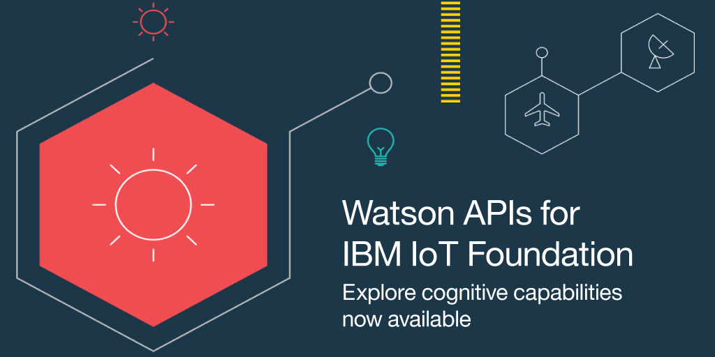 IBM + Watson + IoT = Amazing cognitive capabilities for all your connected devices. https://t.co/xG2AQ03RBl https://t.co/ifG7wR0bH0