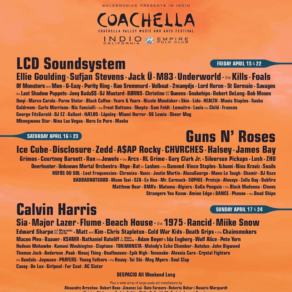 IL's very own @badbadnotgood @DeLuxBand @nosajthing @Rhyemusic will be performing at this year's @coachella! https://t.co/K4NY1EECn9