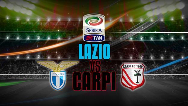 Come vedere LAZIO-CARPI Streaming Diretta TV Oggi