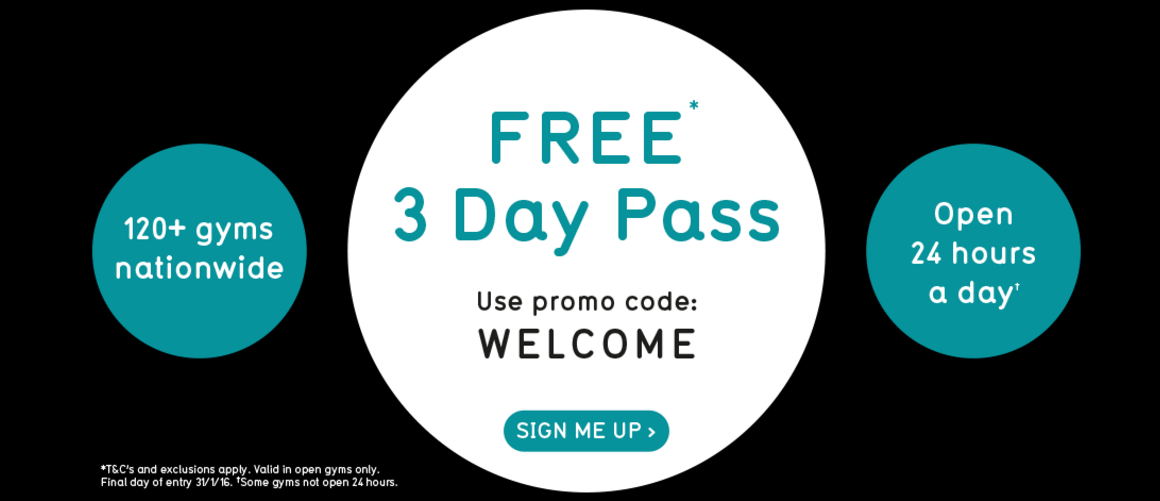 how to get a free gym pass