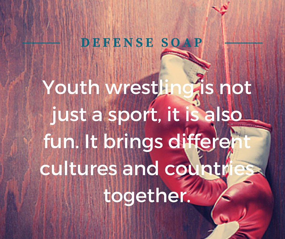 Youth wrestling quote