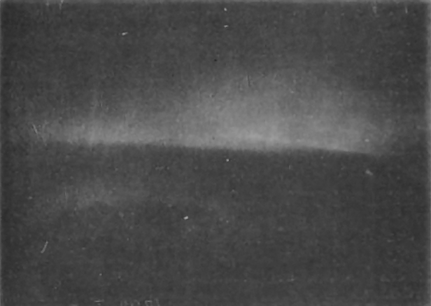 The first extant photograph of the aurora, taken on January 5, 1892 by Martin Brendel