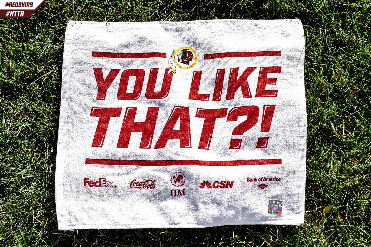 Washington to Hand out 'You Like That?!' Rally Towels at Playoff Game